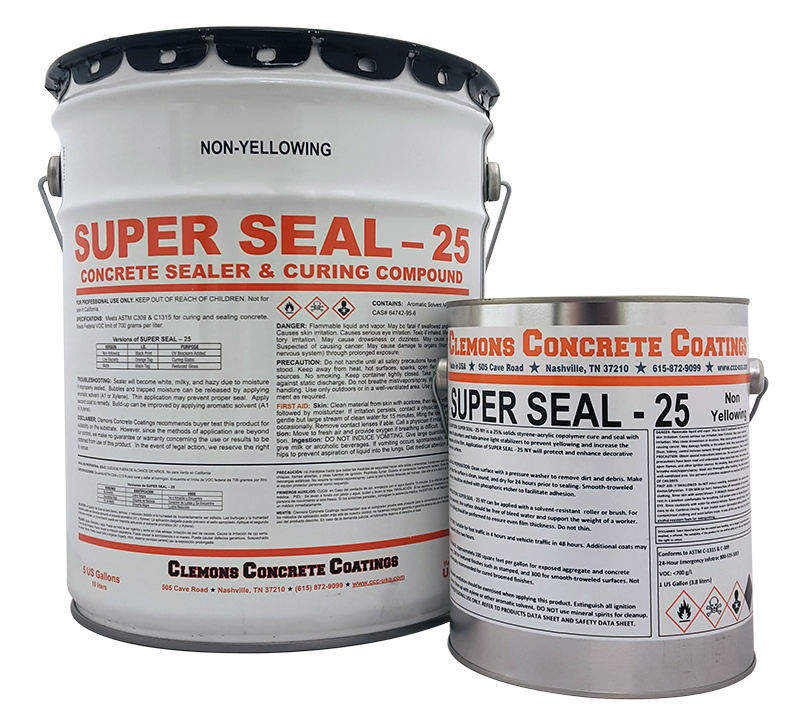 SuperSeal25 Semi-Gloss 5 Gallon